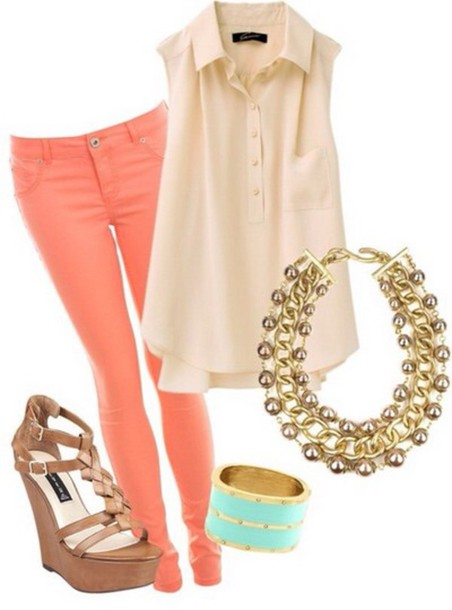 orange-skinny-jeans-o-tan-top-blouse-cognac-shoe-sandalw-turquoise-bracelet-necklace-howtowear-fashion-style-outfit-spring-summer-lunch.jpg