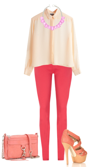 red-skinny-jeans-o-peach-top-blouse-bib-necklace-pink-bag-pink-shoe-sandalh-howtowear-fashion-style-outfit-spring-summer-lunch.jpg