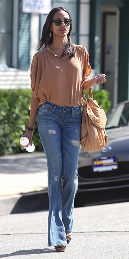 blue-light-flare-jeans-o-camel-top-blouse-hoops-tan-shoe-sandalh-tan-bag-brun-sun-wear-fashion-style-spring-summer-celebrity-lunch.jpg