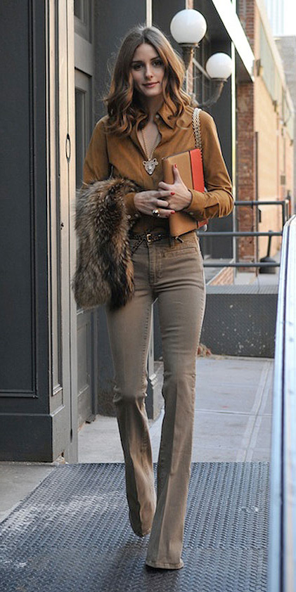 tan-flare-jeans-camel-top-blouse-belt-mono-oliviapalermo-fall-winter-hairr-lunch.jpg