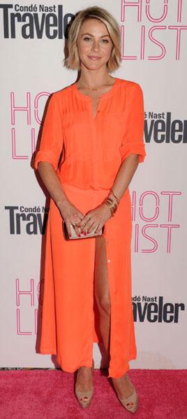 orange-maxi-skirt-orange-top-match-tan-shoe-sandalh-juliannehough-blonde-spring-summer-dinner.jpg