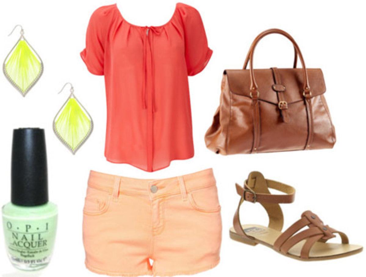 o-peach-shorts-orange-top-blouse-cognac-shoe-sandals-nail-earrings-cognac-bag-howtowear-fashion-style-spring-summer-outfit-weekend.jpg