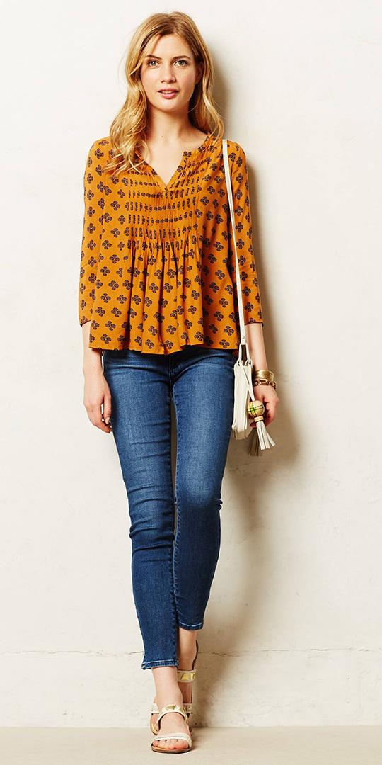 blue-navy-skinny-jeans-orange-top-blouse-peasant-white-bag-blonde-spring-summer-weekend.jpeg