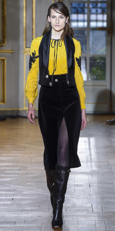 black-midi-skirt-black-tights-black-vest-yellow-top-blouse-peasant-hairr-black-shoe-boots-fall-winter-lunch.jpg