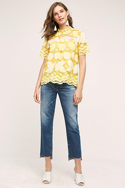 blue-med-crop-jeans-yellow-top-blouse-white-shoe-mules-white-earrings-lace-wear-fashion-style-spring-summer-hairr-lunch.jpg