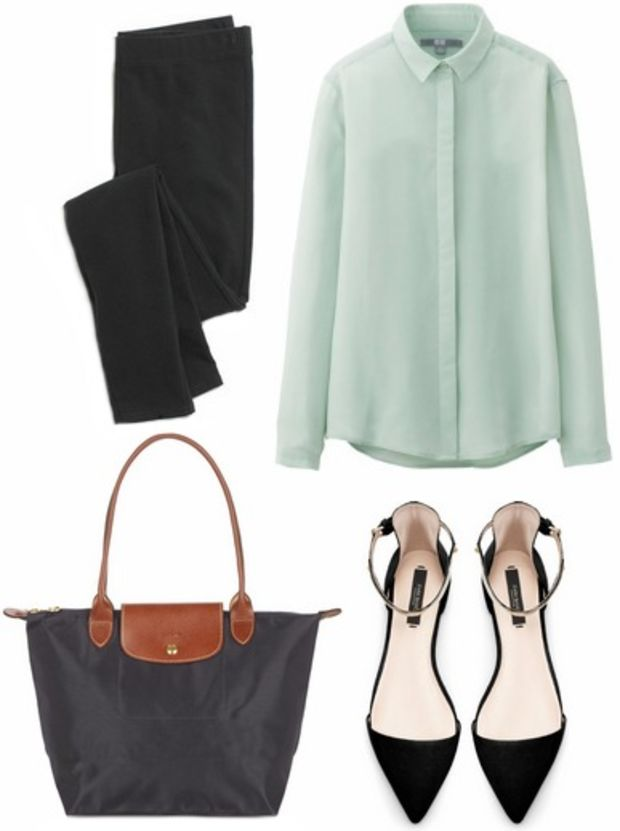 black-slim-pants-green-light-top-blouse-black-shoe-pumps-black-bag-professional-travel-howtowear-fashion-style-outfit-spring-summer-work.jpg