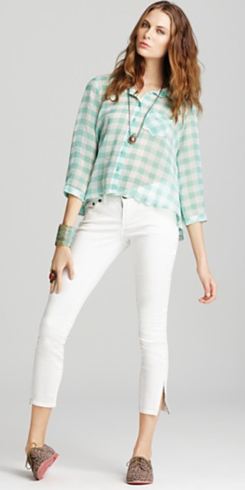 white-skinny-jeans-green-light-top-howtowear-style-fashion-spring-summer-gingham-tan-shoe-brogues-leopard-necklace-hairr-lunch.jpg