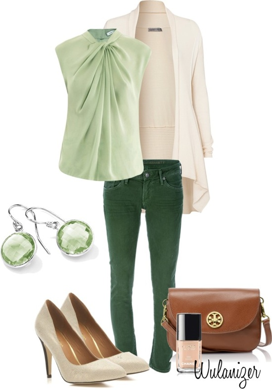 green-olive-skinny-jeans-green-light-top-white-cardiganl-white-shoe-pumps-earrings-cognac-bag-nail-stpatricksday-howtowear-fashion-style-spring-summer-outfit-lunch.jpg