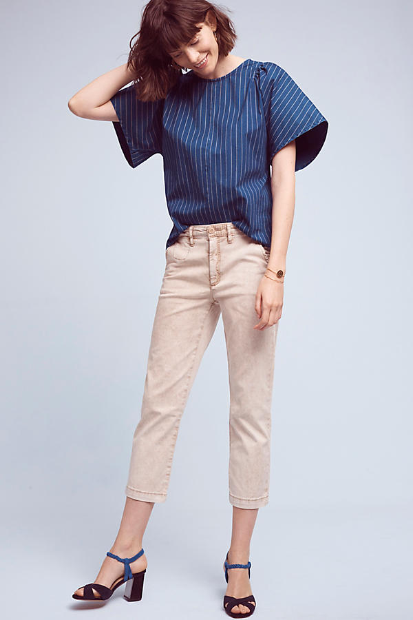 tan-chino-pants-blue-navy-top-fluttersleeve-blue-shoe-sandalh-spring-summer-hairr-lunch.jpg
