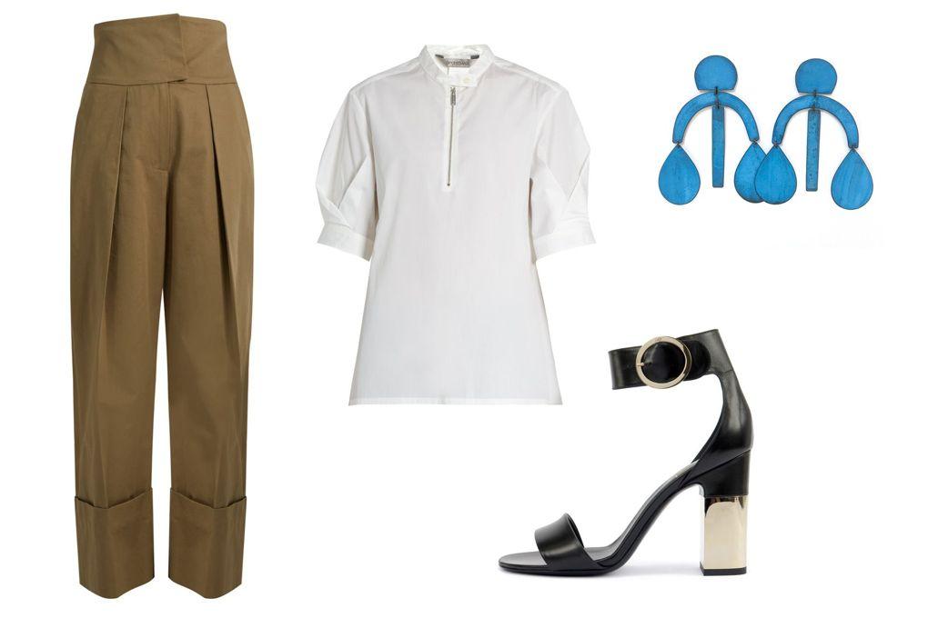 tan-joggers-pants-white-top-blouse-earrings-black-shoe-sandalh-spring-summer-work.jpg