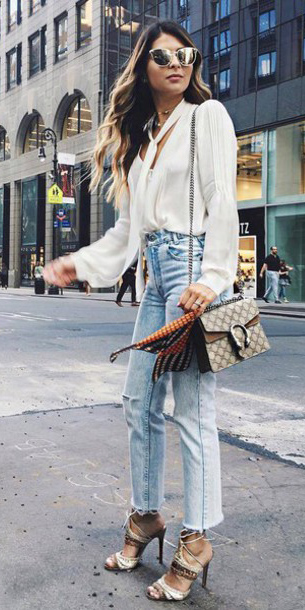 blue-light-crop-jeans-white-top-blouse-sun-brown-bag-hairr-spring-summer-dinner.jpg