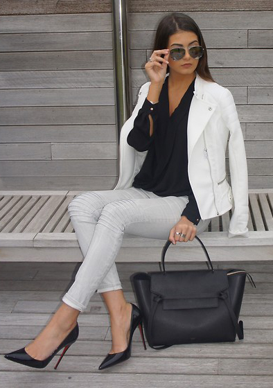 grayl-skinny-jeans-black-top-blouse-white-jacket-moto-black-bag-sun-black-shoe-pumps-howtowear-fashion-style-outfit-spring-summer-hairr-work.jpg
