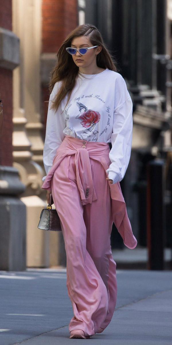 pink-light-wideleg-pants-white-sweater-sweatshirt-sun-blonde-gigihadid-spring-summer-weekend.jpg