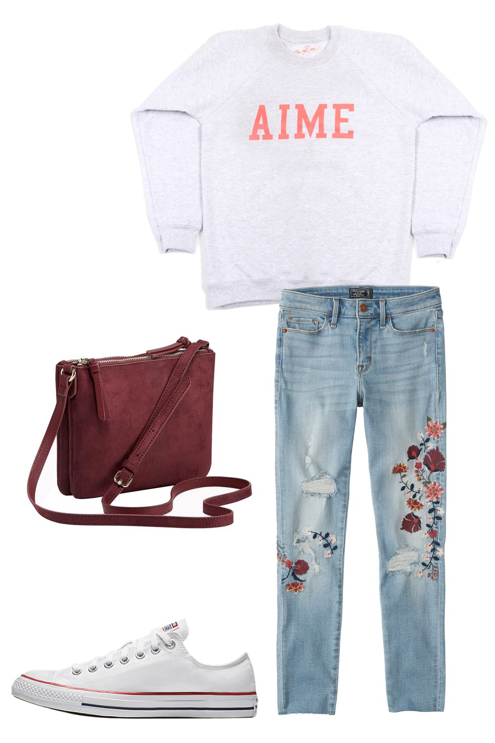 blue-light-skinny-jeans-burgundy-bag-grayl-sweater-sweatshirt-white-shoe-sneakers-converse-howtowear-valentinesday-outfit-fall-winter-weekend.jpg