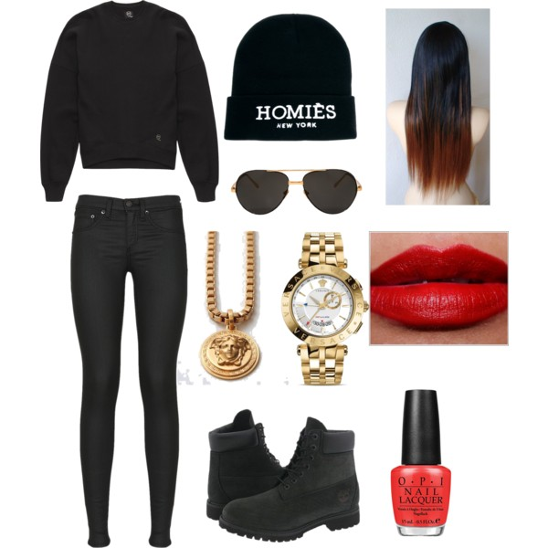 black-skinny-jeans-black-sweater-sweatshirt-beanie-necklace-pend-watch-sun-nail-black-shoe-booties-fall-winter-howtowear-fashion-style-outfit-weekend.jpg