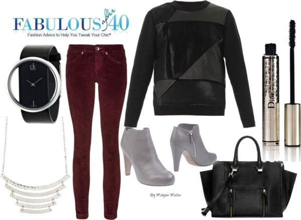 r-burgundy-skinny-jeans-black-sweater-sweatshirt-gray-shoe-booties-watch-black-bag-necklace-howtowear-fashion-style-outfit-fall-winter-dinner.jpg