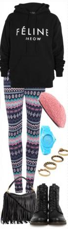 grayl-leggings-zprint-black-sweater-sweatshirt-hoodie-fairisle-fall-winter-watch-hat-black-shoe-booties-black-bag-fringe-graphic-weekend.jpg