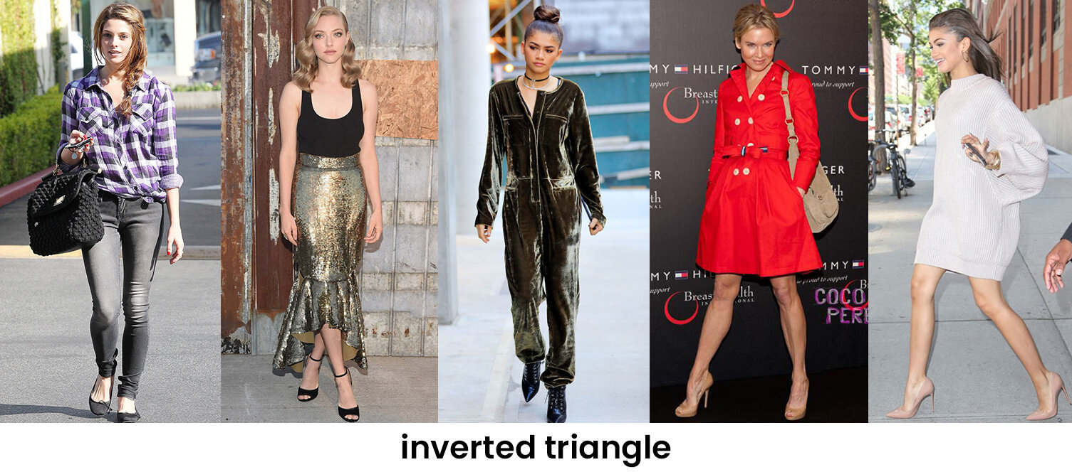 What To Wear For An Inverted Triangle Body Shape Howtowear Fashion