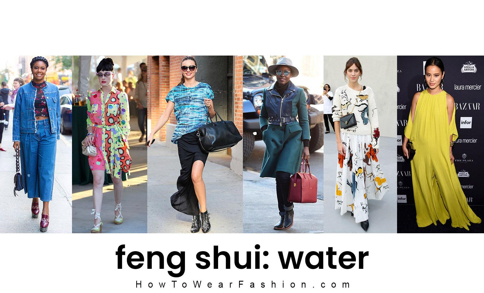 Feng Shui Fashion Water Element Howtowear Fashion
