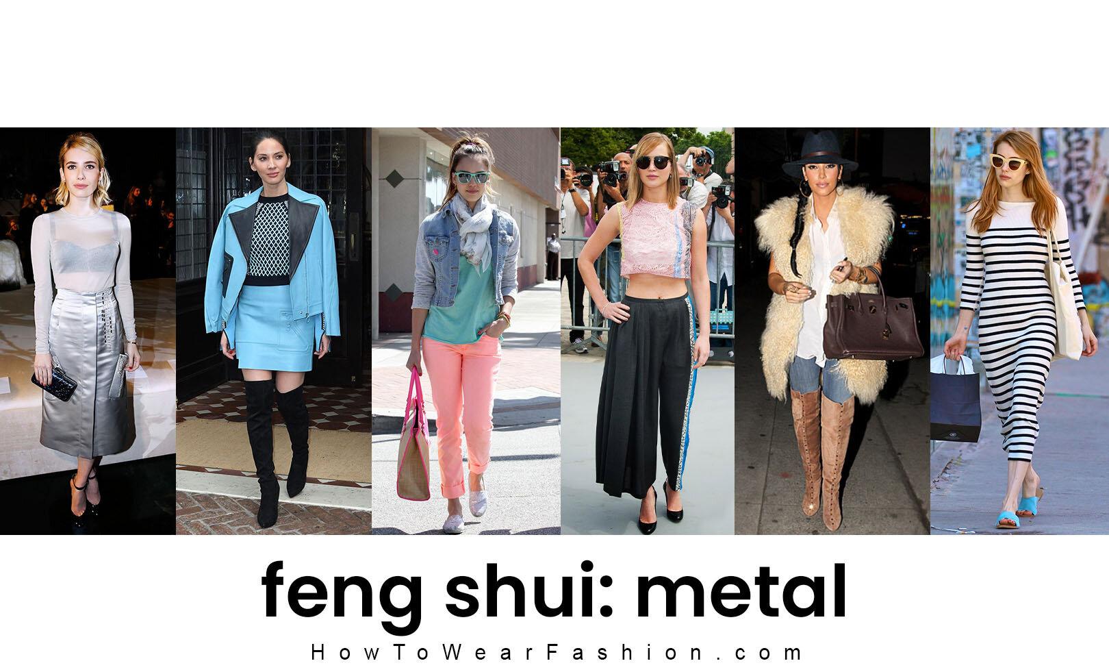 Feng Shui Fashion Metal Element Howtowear Fashion