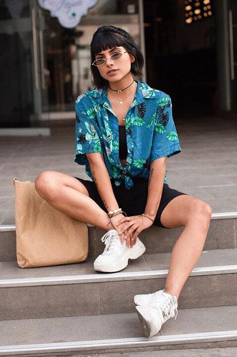 Trend: Hawaiian print   HOWTOWEAR Fashion