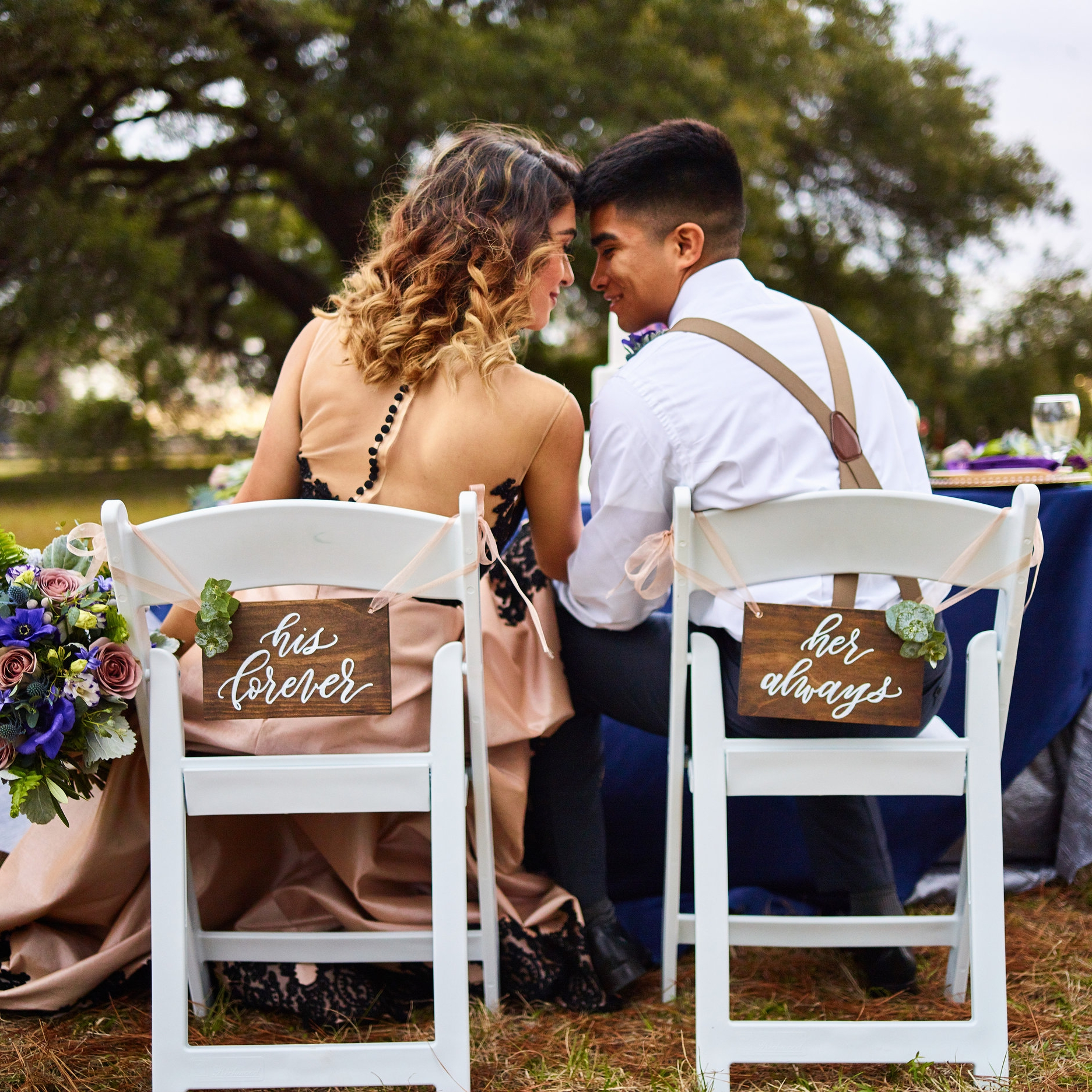 ARTSY ANTIQUE PURPLE STYLED WEDDING SHOOT  Published By:  The Vintage Herald