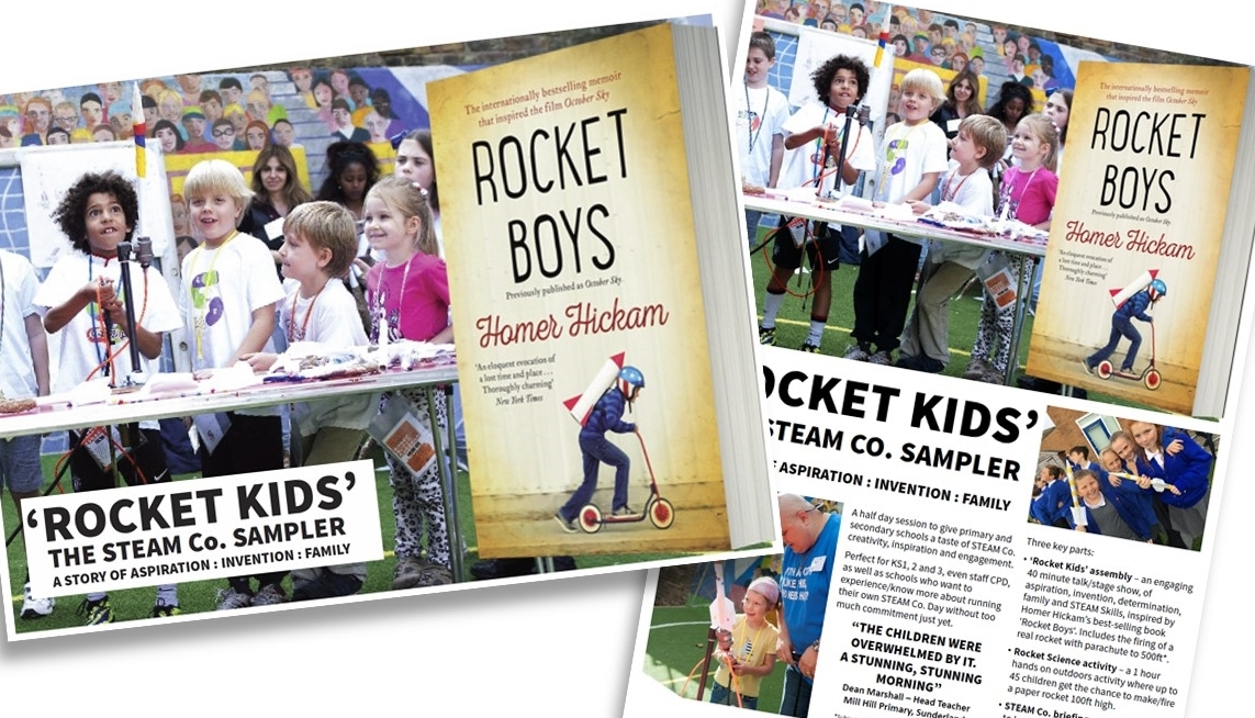 Click the image above to find out more about the  'Rocket Kids' session