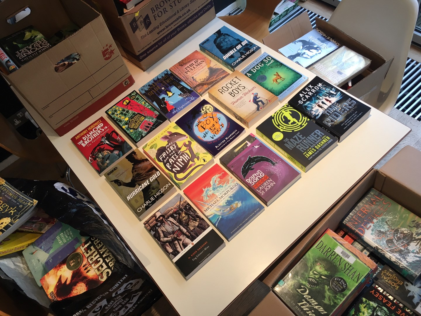Books received (1) (Large).JPG