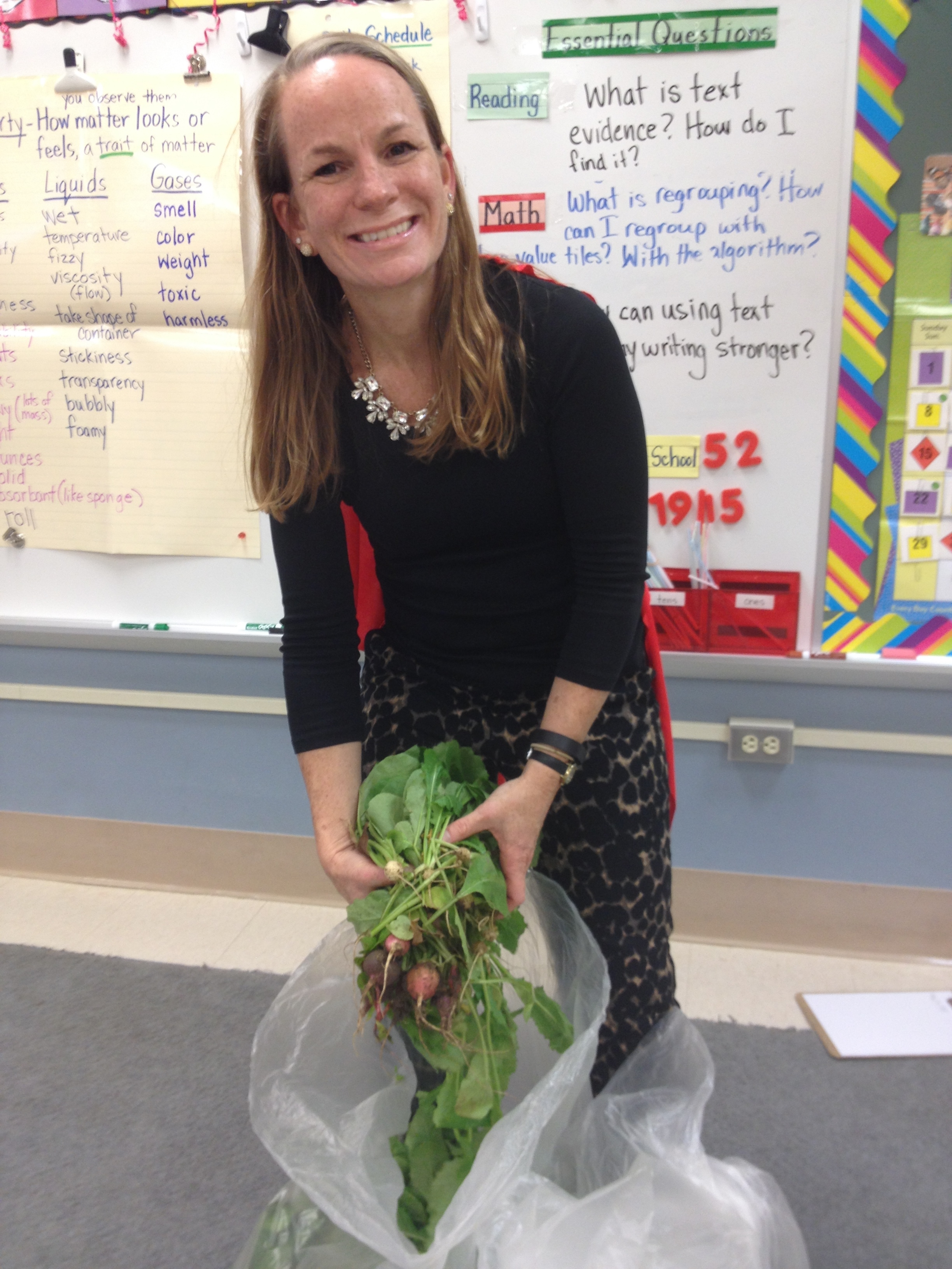 Wendy Turner, teacher and Green Team leader, at Mt. Pleasant Elementary School, a 2015 Green Ribbon Award winner and participant in Green Building United's Delaware Pathways to Green Schools program.