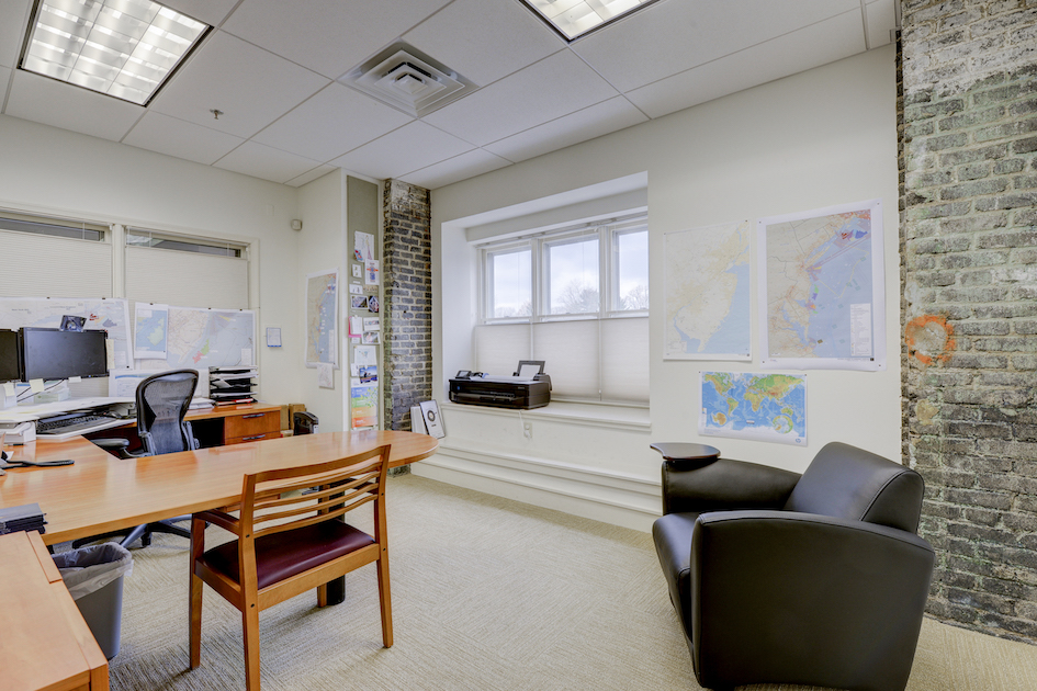 An example of one of the interior offices of 40 West Evergreen.