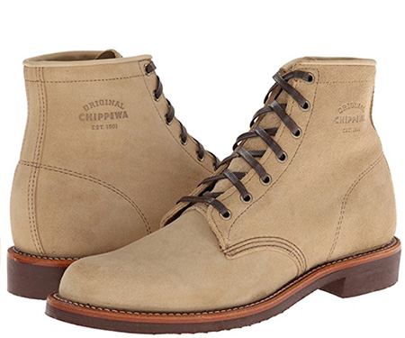 Mens summer boots - warm weather boots unlined leather boots