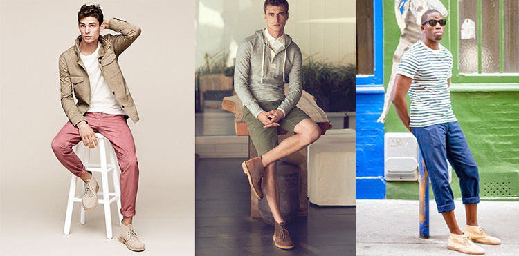 Summer boots for men - warm weather boots style