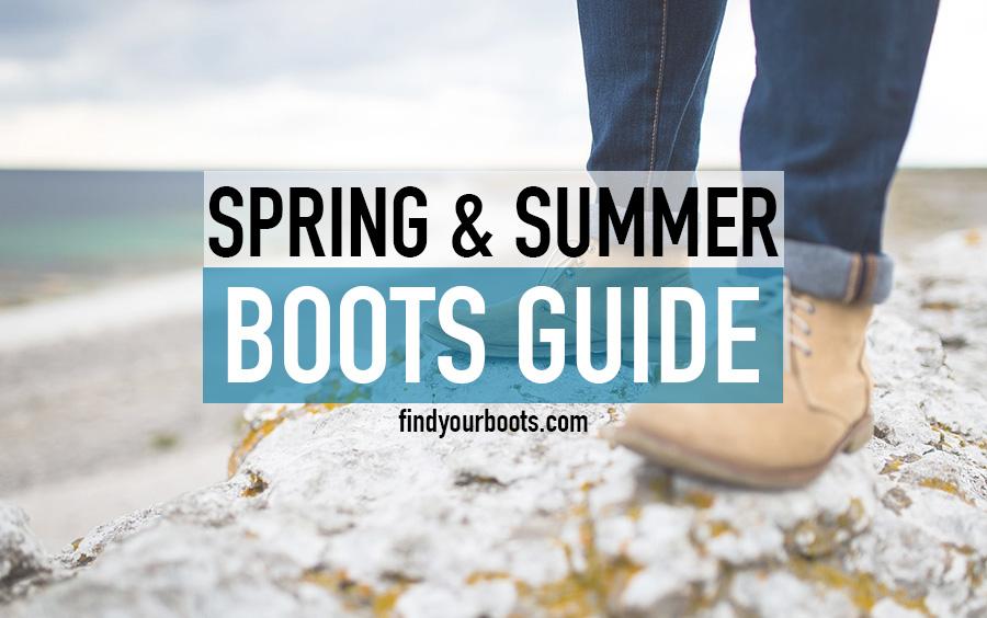 Mens summer boots - Best warm weather summer boots for men