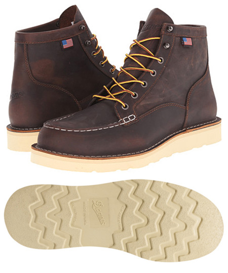 Danner Bull Run Moc Toe Work Boot - Made in USA