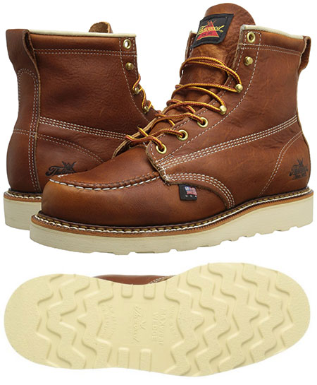 Thorogood American Heritage Moc Toe Boot - Made in USA