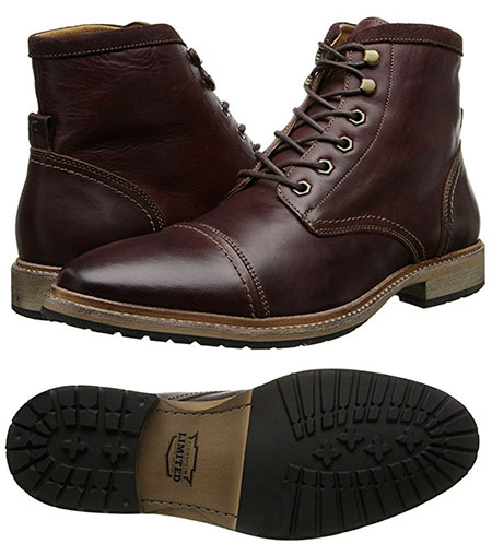 Florsheim Indie Cap boot - An affordable casual work-style inspired boot.