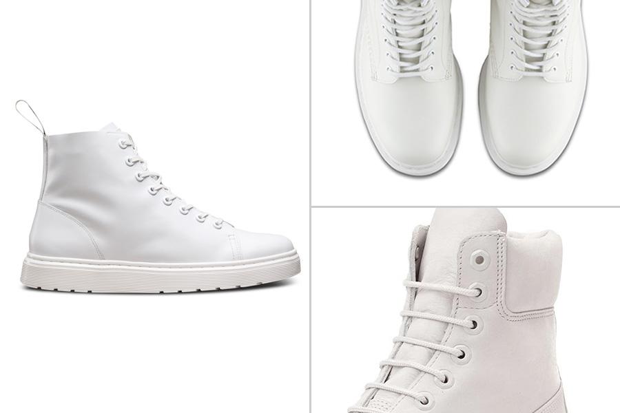 White Boots for Men