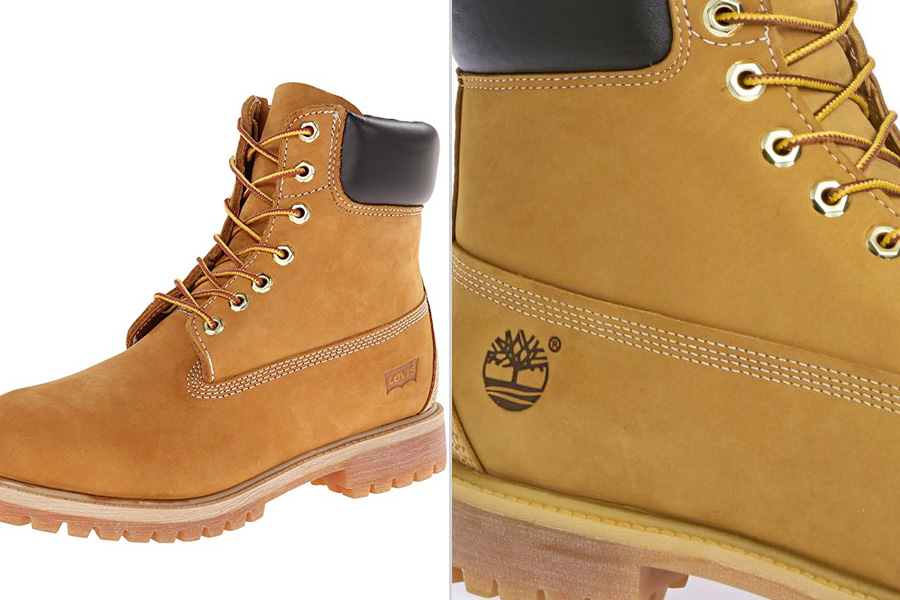 Levis Boots vs Timberland 6 Inch Boot