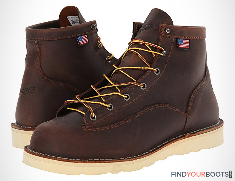 Wedge Soled Boots - Mens Wedge Sole Work Boots