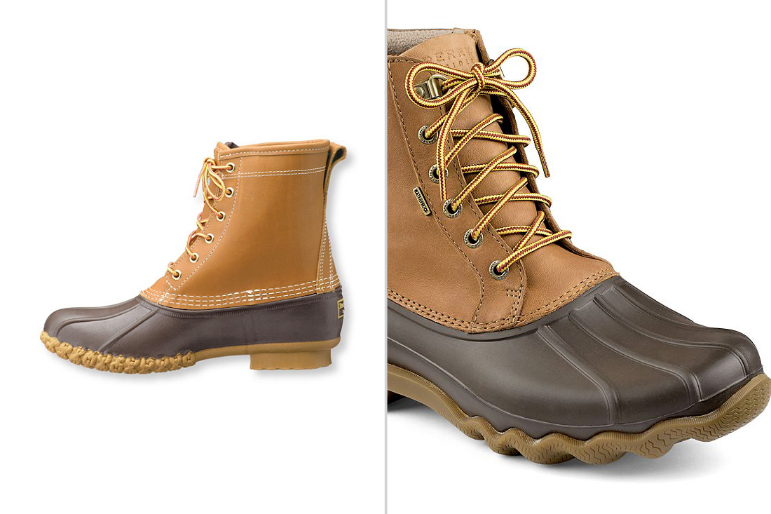 Sperry vs LL Bean Duck Boots Comparison