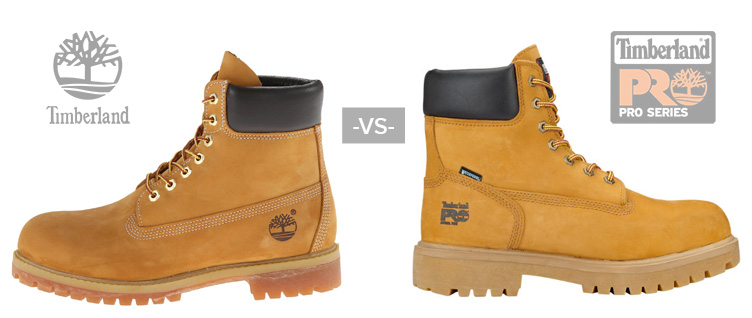 Timberland vs Timberland Pro What's the difference
