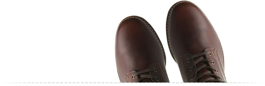 Plain toe boots: Wolverine 1000 Mile Boots ( Amazon )