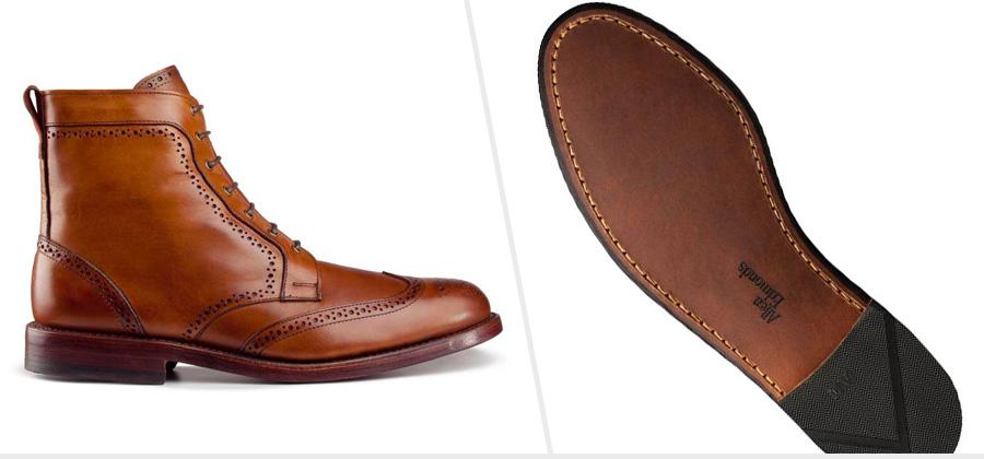 Double Leather Sole Boots: Allen Edmonds Dalton ( Amazon )