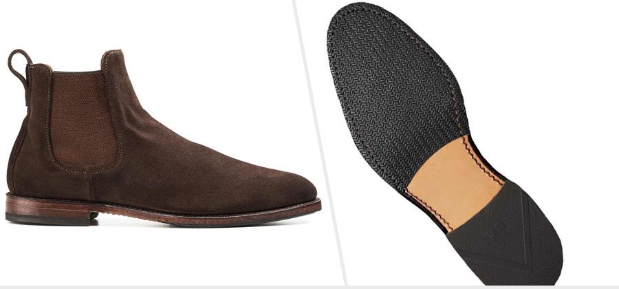 Leather & Rubber Combination Sole: Allen Edmonds Liverpool Chelsea Boot ( Amazon )