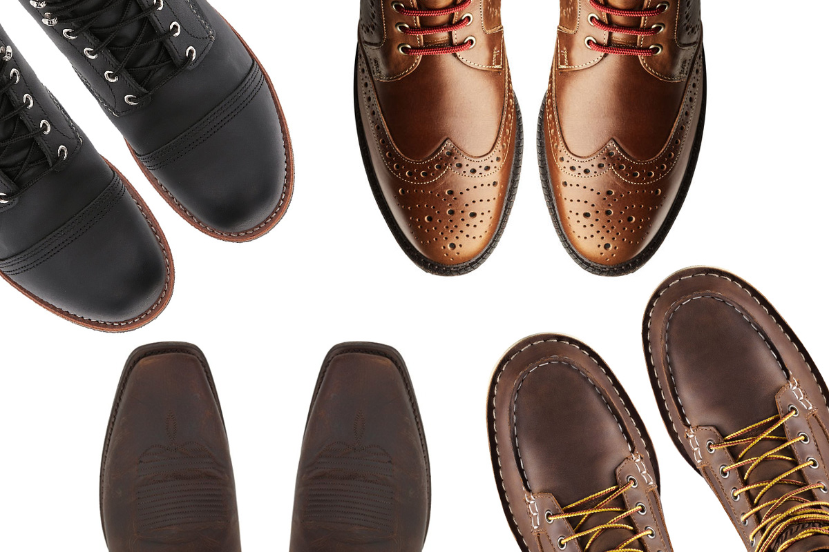 Boot Toes 101 - A Guide to 7 Common Boot Toe Styles