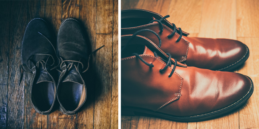 Avoid using mink oil on suede and finer dress boots.