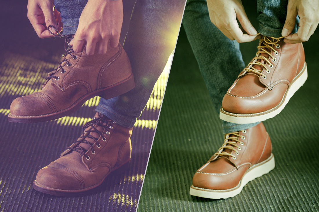 Wedge Sole vs Heel Work Boots - Which