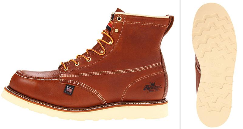 Thorogood American Heritage wedge sole boot ( Amazon )