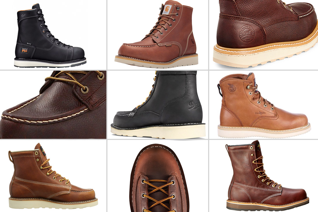 Wedge Sole Boots - Best Wedge Soled Work Boots for Men