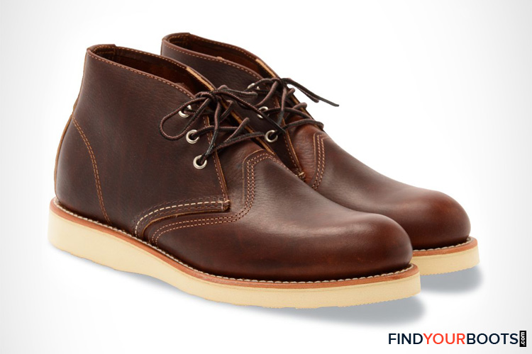 Red Wing Heritage Work Chukka Boot - Most Comfortable Men's Chukka Boots for Work